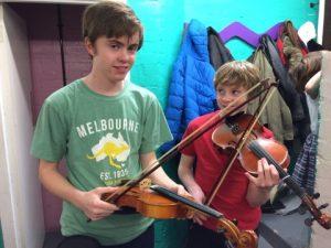 R & D Fun Fiddle Ceilidh 2018