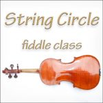 String Circle fiddle class logo